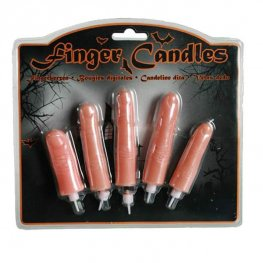 Halloween Finger Candles