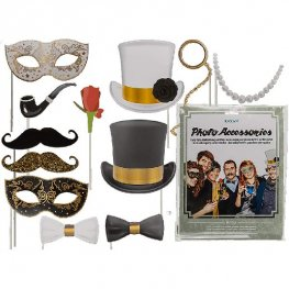 Glamour Party Photo Props 12pc