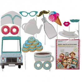 Sweet Party Photo Props 12pc