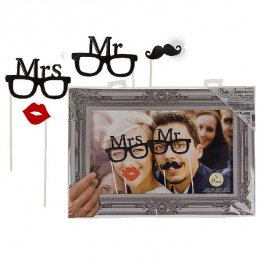 Mr And Mrs Party Photo Props And Frame