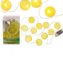 Lemon Slices LED Garland