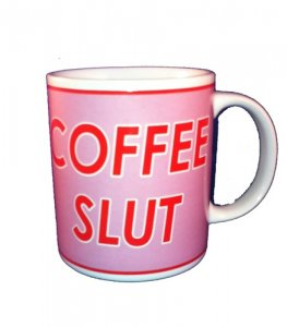 Coffee Slut Office Mug