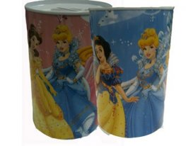 Disney Princess Medium Money Box Tin