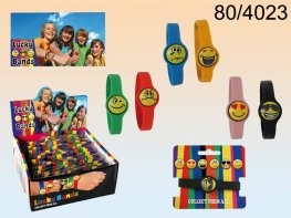 Funny Faces Silicon Bracelets Assorted