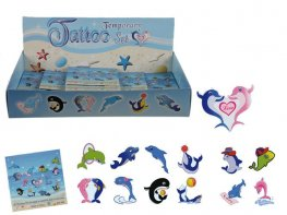 Funny Dolphin Temporary Tattoo Set x120