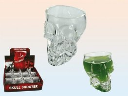 Skull Shooter Glass x1
