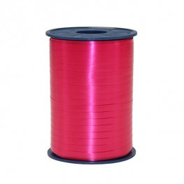 Raspberry Satin Curling Ribbon 500m