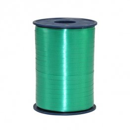 Green Satin Curling Ribbon 500m