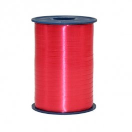 Red Satin Curling Ribbon 500m