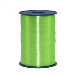 Apple Green Satin Curling Ribbon 500m