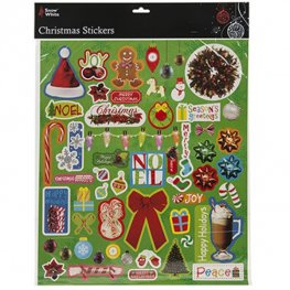 Christmas Design Sticker Sheet