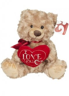 "10"" Rafaelo Love Bears"