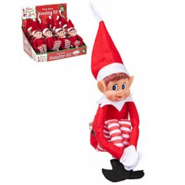 "12"" Long Leg Boy Elf Doll"