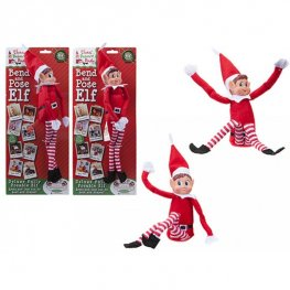 "12"" Bendable Elf Doll"