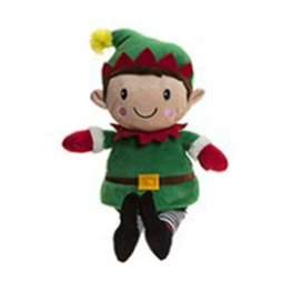 "9"" Elf Festive Plush Toy"