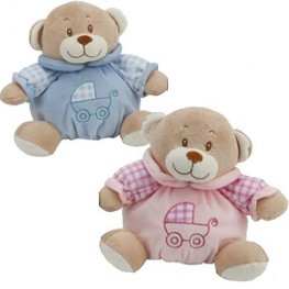 "8"" Tubby Nursery Bears"