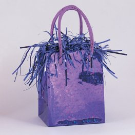 Purple Gift Bag Weights