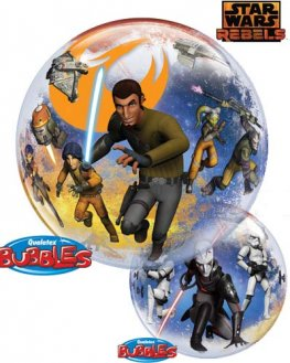 "22"" Star Wars Rebels Single Bubble Balloons"
