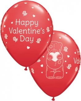 "11"" Me To You Tatty Teddy Valentines Day Latex Balloon 25pk"