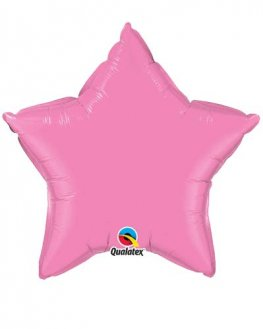 "20"" Rose Star Microfoil Balloon"