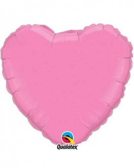 "18"" Rose Heart Foil Balloon"