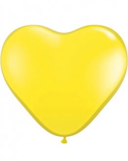 "6"" Yellow Latex Balloons 100pk"