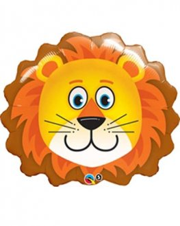 Lovable Lion Shape Foil Balloons