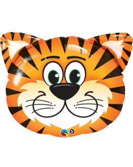 Tickled Tiger Shape Foil Balloons