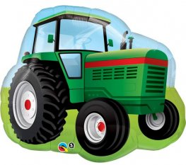 Farm Tractor Supershape Balloons