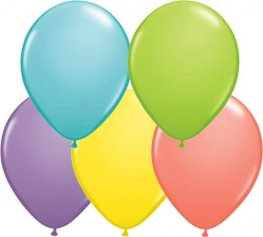 "5"" Sorbet Assortment Latex Balloons 100pk"