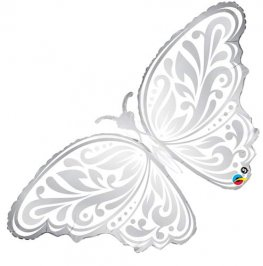 Wedding Butterfly Supershape Balloons