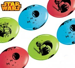 "12"" Star Wars Quick Link Latex Balloons 50pk"