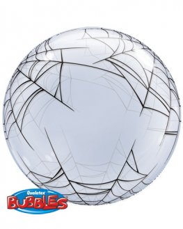 "24"" Spider Web Deco Bubble Balloons"