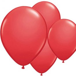 "11"" Red Latex Balloon 6pk"