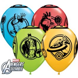 "11"" Avengers Assemble Latex Balloon 25pk"