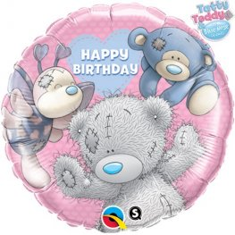 "18"" Me To You Blue Nose Friends Birthday Foil Balloons"