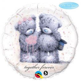 "18"" Me To You Tatty Teddy Together Forever Foil Balloons"