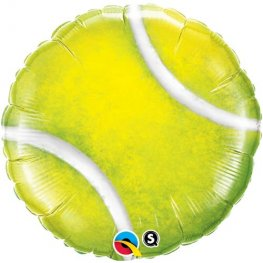 "18"" Tennis Ball Foil Balloons"