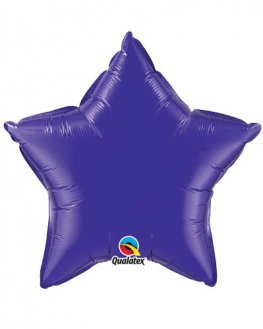 "4"" Quartz Purple Star Foil Balloon"