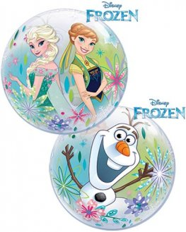 "12"" Disney Frozen Forever Air Bubble Balloons 10pk"
