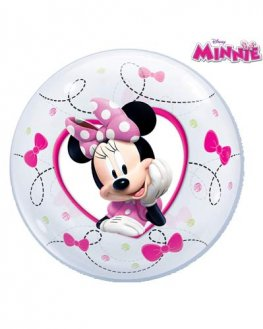 "12"" Minnie Air Bubble Balloons 10pk"