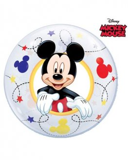 "12"" Mickey Air Bubble Balloons 10pk"