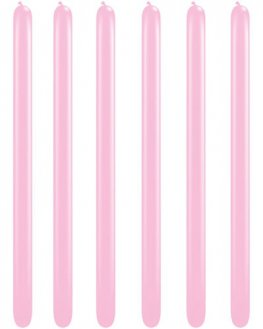 160Q Pearl Pink Modelling Balloons 100pk