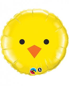 "18"" Baby Chick Foil Balloons"