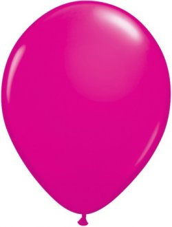 "5"" Wild Berry Latex Balloons 100pk"