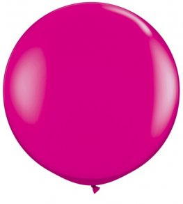 3ft Wild Berry Latex Balloons 2pk