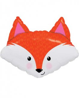 "14"" Fabulous Fox Air Fill Balloons"