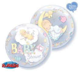 "22"" Precious Moments Baby Shower Bubble Balloons"