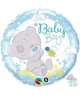 "18"" Tiny Tatty Teddy Baby Boy Foil Balloons"