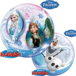 "22"" Disney Frozen Single Bubble Balloons"